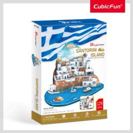 3D Puzzle – Santorini Island