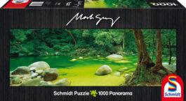 Puzzle 1000 Gray Panorama – Mossman Gorge, Αυστραλία