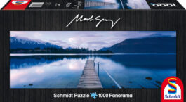 Puzzle 1000 Gray Panorama – Lake Wakatipu, Ν. Ζηλανδία