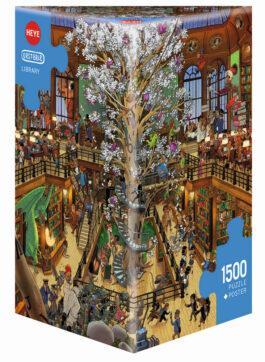 Puzzle 1500 Oesterle – Βιβλιοθήκη