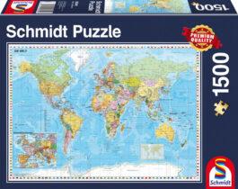 Puzzle 1500 Standard – Ο κόσμος