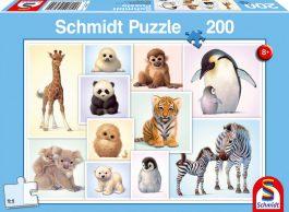Puzzle 200 Standard – Μωρά ζώα