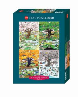 Puzzle 2000 Blachon – 4 Εποχές