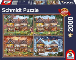 Puzzle 2000 Standard – Το σπίτι 4 εποχές