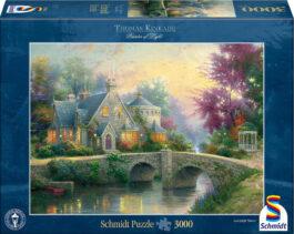 Puzzle 3000 Kinkade – Δειλινό