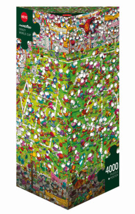Puzzle 4000 Mordillo – Crazy World Cup