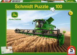 Puzzle 100 Deere – Τρακτέρ συνδυαστική συγκομιδή