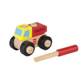 Ξύλινο Ανατρεπόμενο Φορτηγό