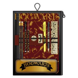 Harry Potter Bumper Stationery Wallet Hogwarts Black