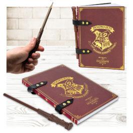 Harry Potter Σημειωματάριο Με Μολύβι Ραβδί