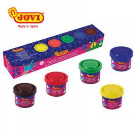 Δακτυλομπογιές JOVI 5 Χρώματα 35ml