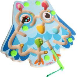 Magnetic Animal Maze– Owl