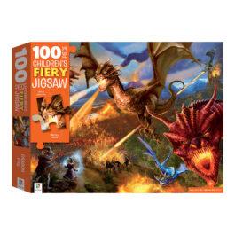 Puzzle 100 Αφής – Δράκοι Φλογοβόλοι