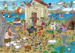 Puzzle 100-Ελληνική Μυθολογία