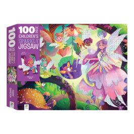 Puzzle 100 με Ολογραφικά – O Κήπος Των Νεράιδων