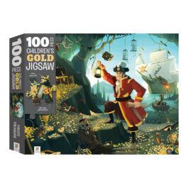Puzzle 100 με Χρυσοτυπία – Ο Θησαυρός των Πειρατών