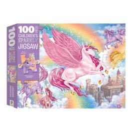 Puzzle 100 με Εκλάμψεις – Το Βασίλειο των Μονόκερων