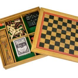 Επιτραπέζο Ξύλινο Παιχνίδι 6 σε 1