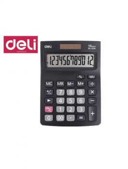 Αριθμομηχανή Deli 12 Ψηφίων DL-1519 Μπαταρίας/Ηλιακή