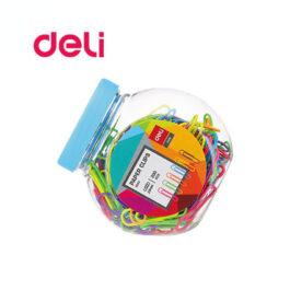 Συνδετήρες χρωματιστοί Deli 29mm 200 τεμάχια