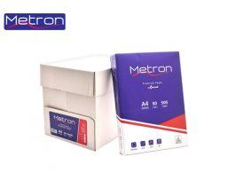 Χαρτί Φωτοαντιγραφικό Metron Α4 80gr 500 φύλλα