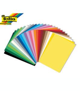 Χαρτόνι Folia Α4 220gr Διάφορα Χρώματα 100 φύλλα