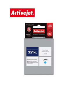 Ink ActiveJet για HP 951XL 25ml CN046 AH-951CRX Cyan