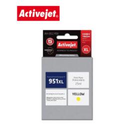 Ink ActiveJet για HP 951XL 25ml CN048 AH-951YRX Yellow