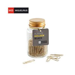 Συνδετήρες Βάζο Miquelrius Always Black Golden