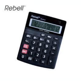 Αριθμομηχανή 12 Ψηφίων Rebell 8118-12
