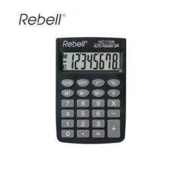 Αριθμομηχανή 8 Ψηφίων Rebell HC110N Μαύρο