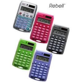 Αριθμομηχανή 8 Ψηφίων Rebell Starlet