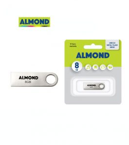 USB Flash Drive Almond 8GB Μεταλλικό Mini