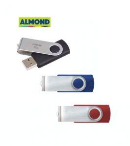 USB Flash Drive Almond 8GB Twister