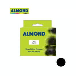Ink Almond Συμβατό με HP 339 27ml C8767EE Black