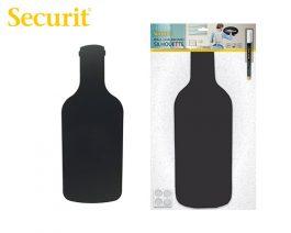Μαυροπίνακας Υγρής Κιμωλίας Securit Μπουκάλι με Αυτοκόλλητα και Μαρκαδόρο 49.7 x 19.5 cm