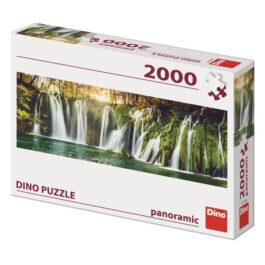 Puzzle Dino Panoramic 2000 Καταρράκτες Πλίτβιτσε