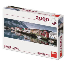 Puzzle Dino Panoramic 2000 Ψαροχώρι