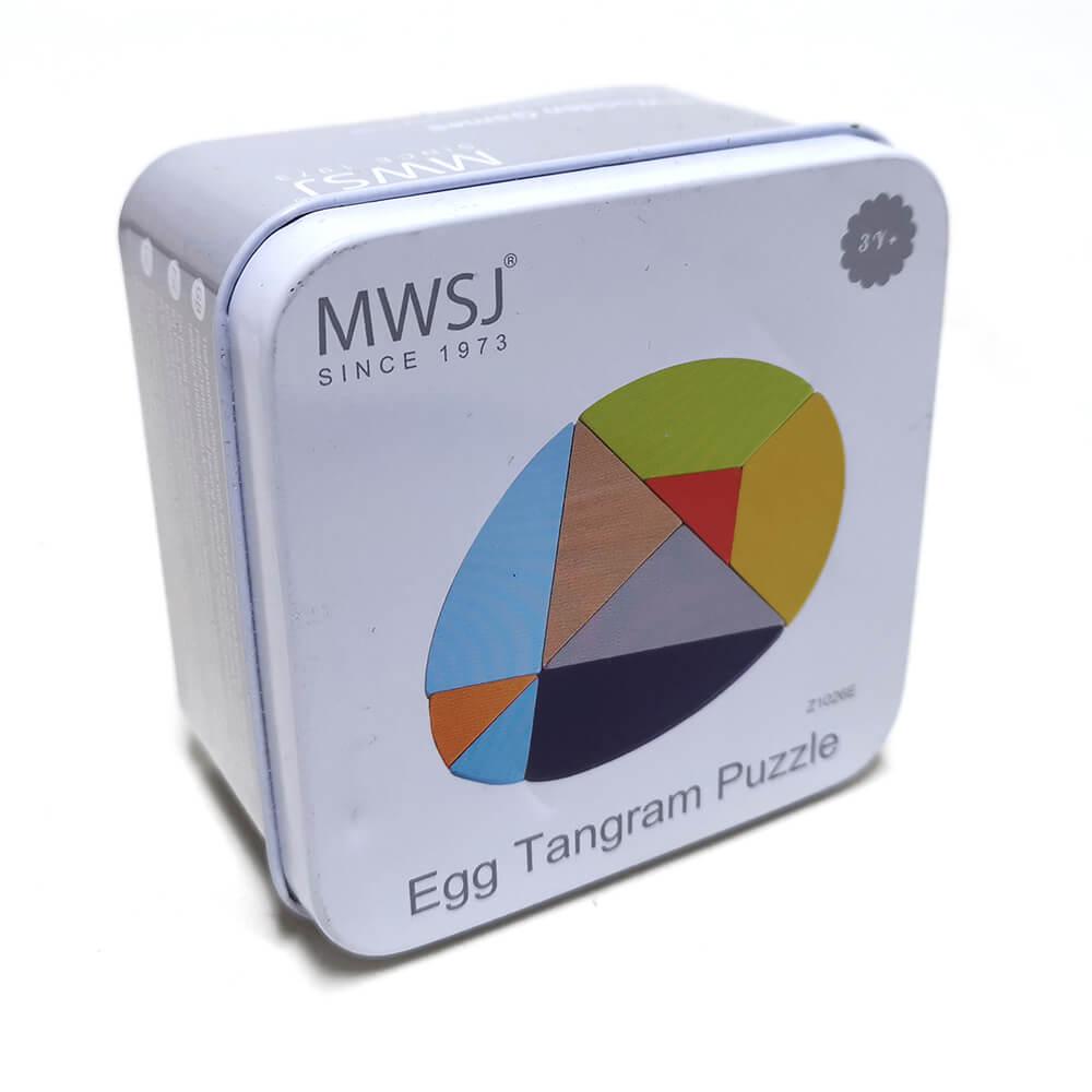 Egg Tangram Puzzle
