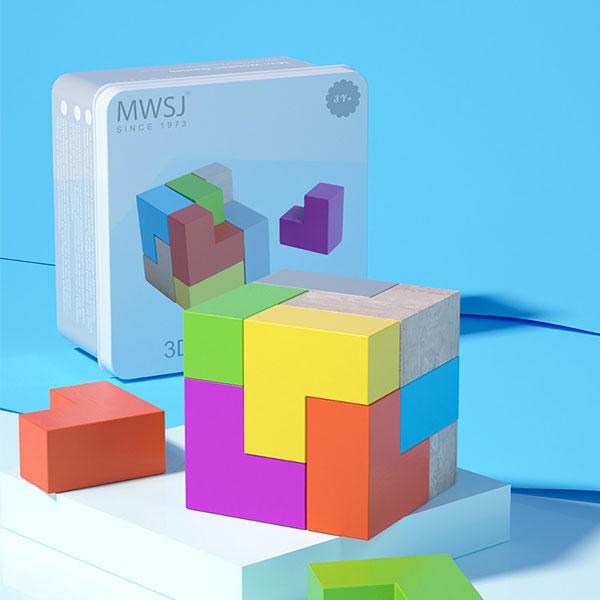 3D Cube Blocks