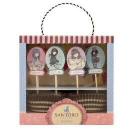 Διακοσμητικό Σετ Cupcake Santoro Sweet Tea Sweet Cake