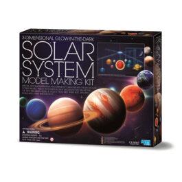 Τρισδιάστατο Ηλιακό Σύστημα που Λάμπει στο Σκοτάδι