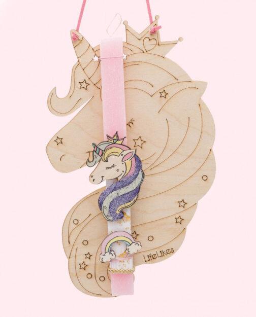 Λαμπάδα Unicorn