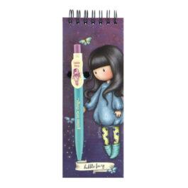 Μπλοκάκι με Στυλό Santoro Bubble Fairy