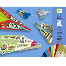 Κατασκευή Οριγκάμι Djeco Αεροπλάνα