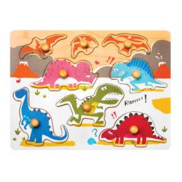 Jurassic Dinosaur Peg Puzzle