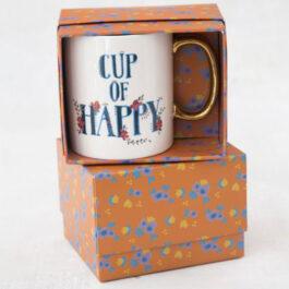 Κούπα Δώρο Κεραμική Cup Of Happy 354ml