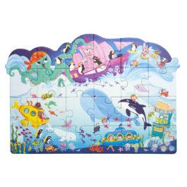 Puzzle 3 σε 1 – Ο Κόσμος της Θάλασσας