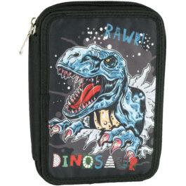 Back Me Up Κασετίνα Διπλή Dinosaur 357-05100