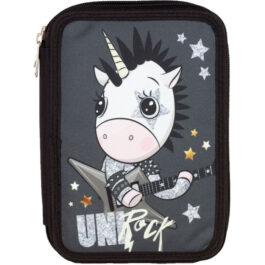 Back Me Up Κασετίνα Διπλή Uni Rock 357-06100